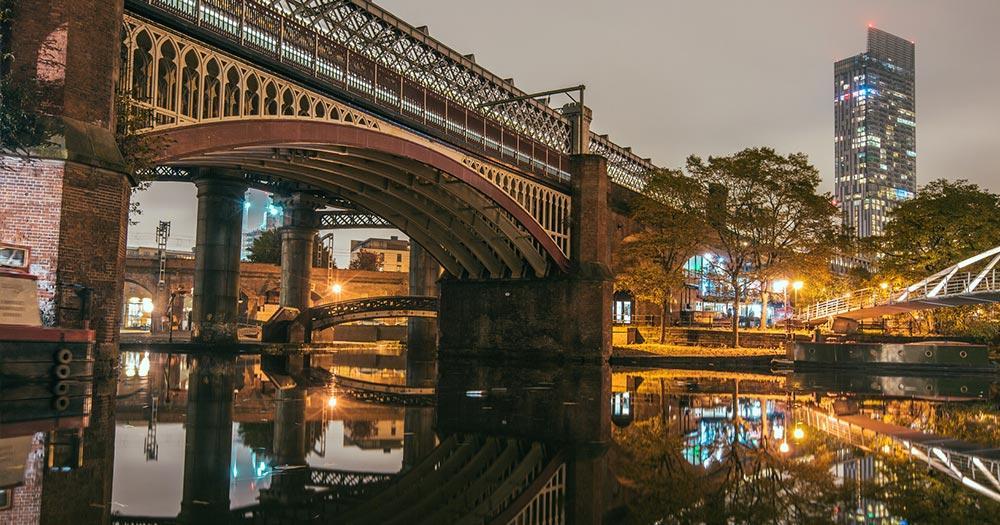 Manchester - Reflexionen im Fluss
