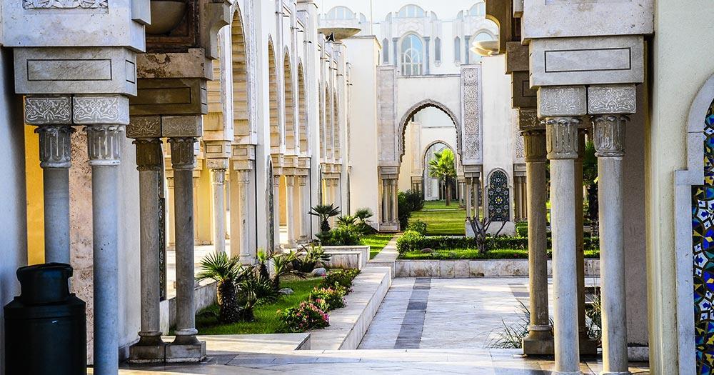Casablanca - klassisches Gebäude
