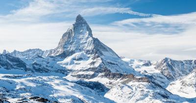 Matterhorn - Gipfel im Schnee