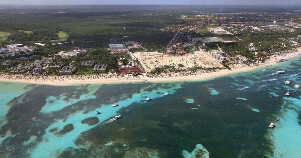 Cairns - Strand Luftaufnahme