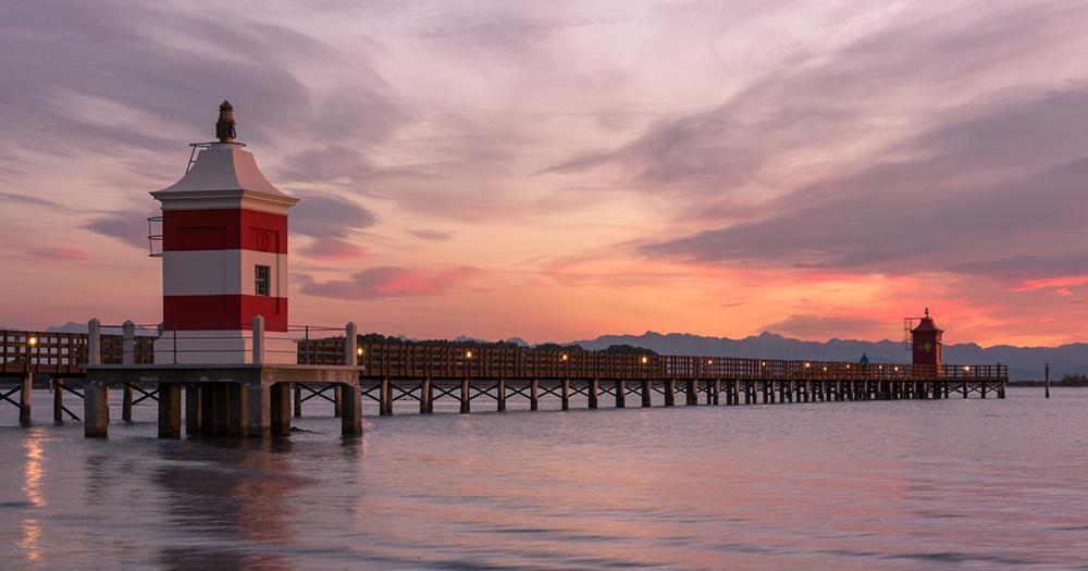 Lignano Sabbiadoro - Sonnenuntergang
