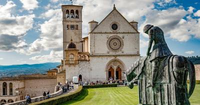 Umbrien - Assisi Basilica San Francesco