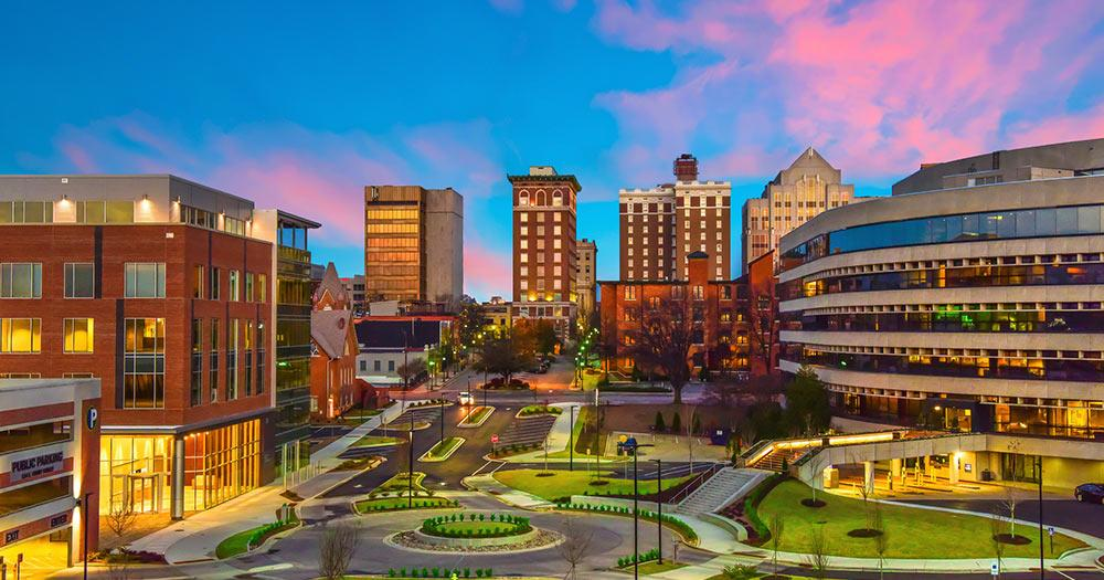 Greenville - Downtown