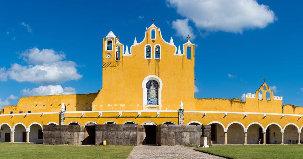 Yucatán - Couvent San Antonio de Padua
