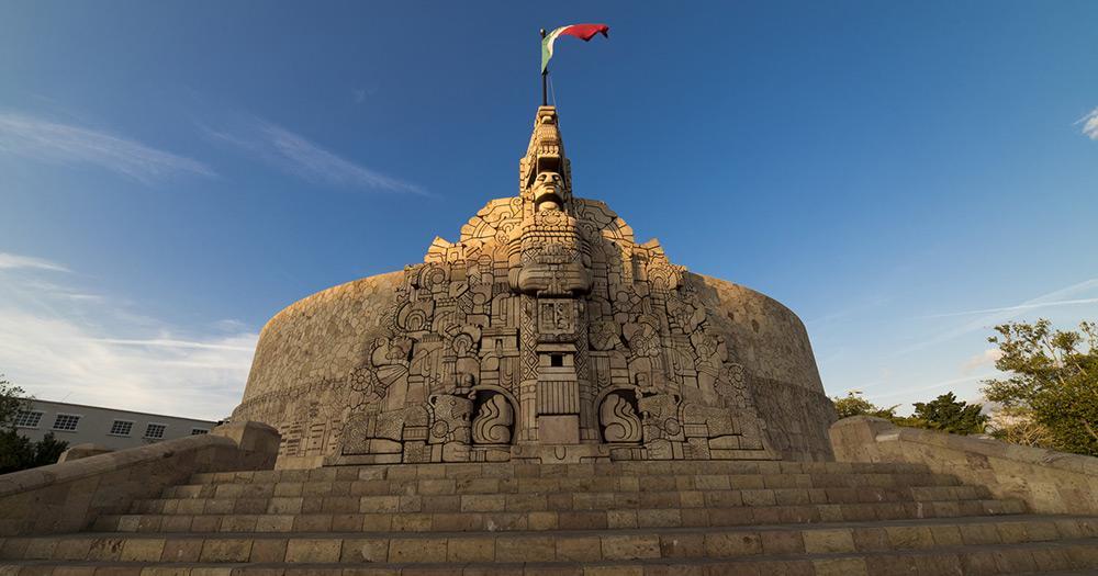 Yucatán - Monumento a la Pátria