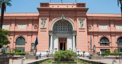 Ägyptisches Museum Kairo - Frontansicht