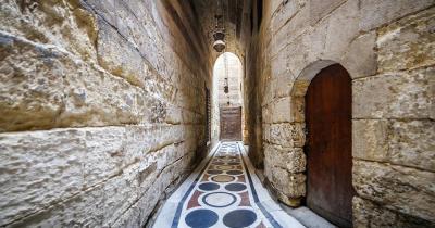 Chan el-Chalili - Steinkorridor