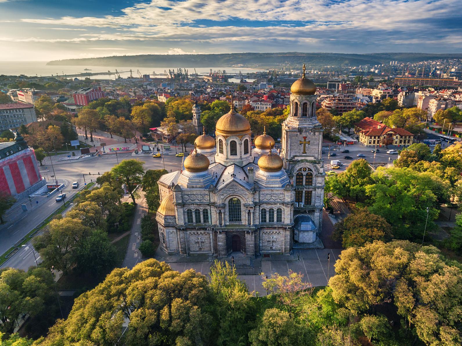 Goldstrand - Die Kathedrale von Varna