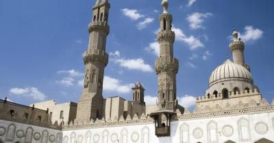 Al-Azhar-Moschee - Innenhof