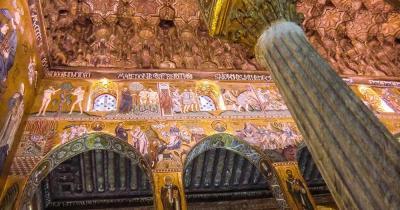 Cappella Palatina - Innenaufnahme