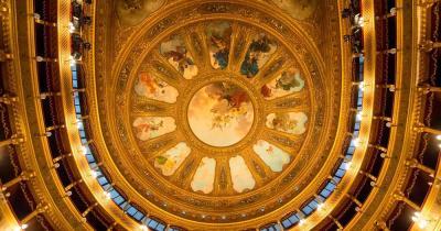Teatro Massimo - Deckenmalerei