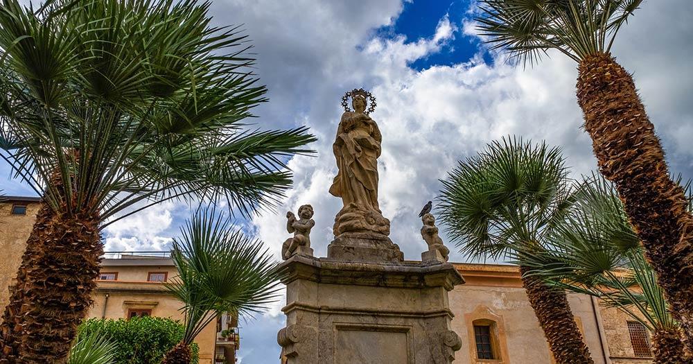Kathedrale von Monreale - Madonnenstatue