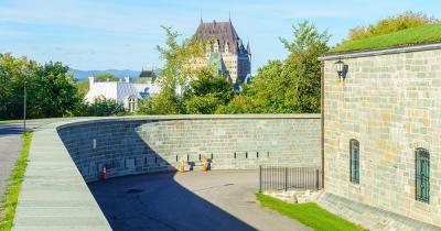 Zitadelle von Quebec - Blick auf die Stadt