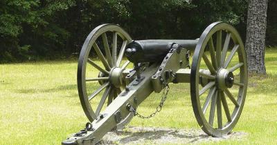 Battlefields Park - Bürgerkriegskanone