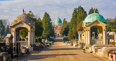 Mirogoj-Friedhof - Allee
