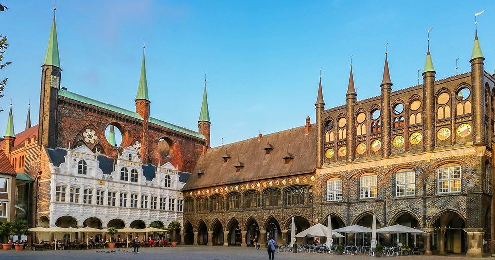 Lübeck - Marktplatz