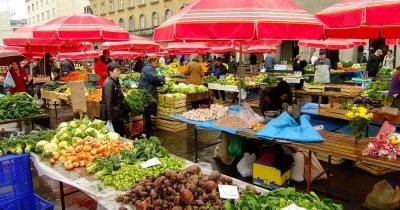 Dolac Market - frisches Gemüse