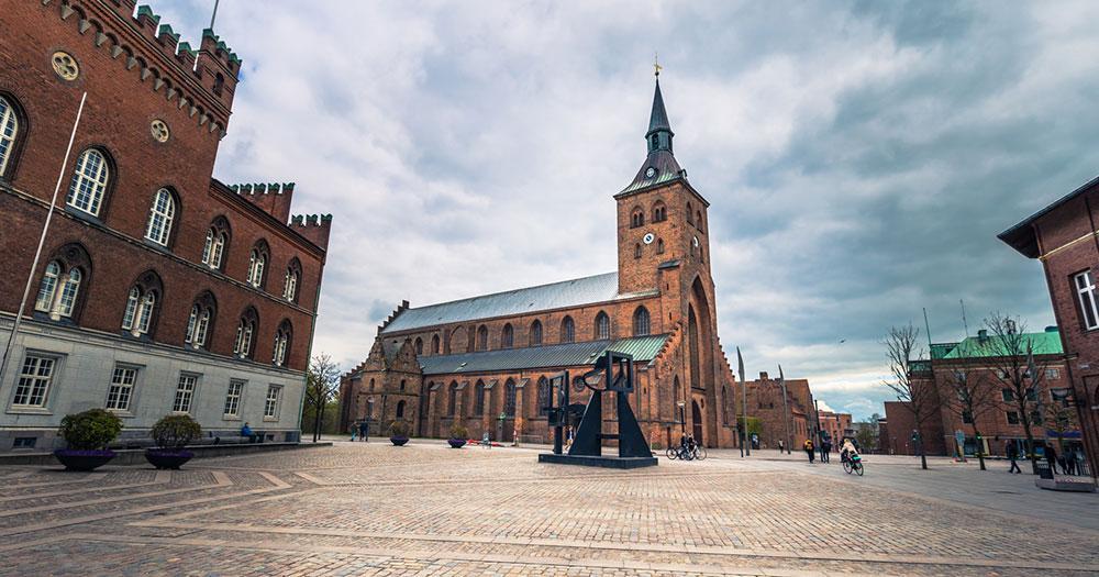 Odense - alter Hauptplatz
