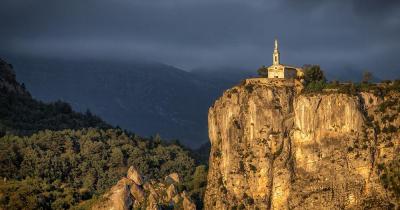 Castellane - Chapelle Notre dame du Roc