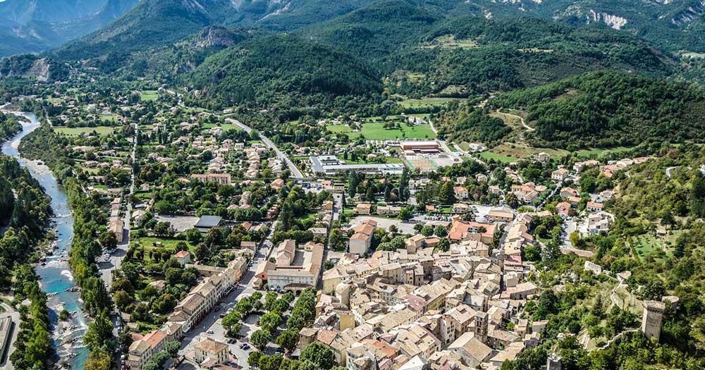Castellane - Panoramablick
