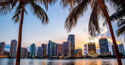 South Beach - Miame Skyline