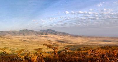 Serengeti-Nationalpark -Panaoramablick