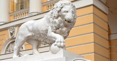 Russisches Museum - Marmor Löws
