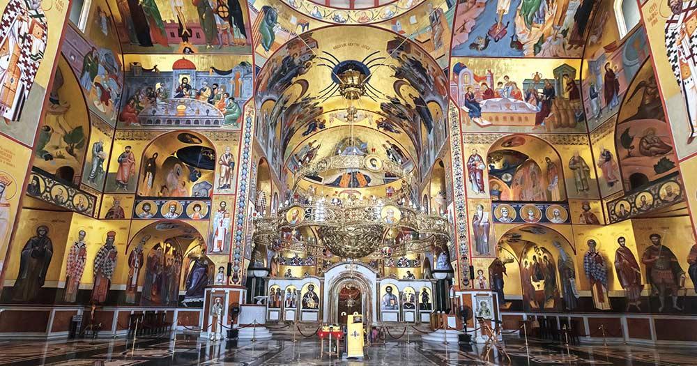 Podgorica - Kathedrale von innen