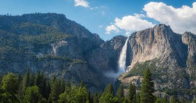 Yosemite-Nationalpark -  Upper Falls