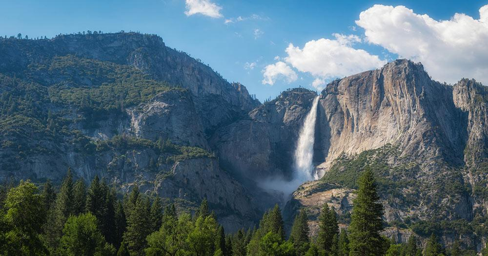 Yosemite-Nationalpark -  Upper Falls