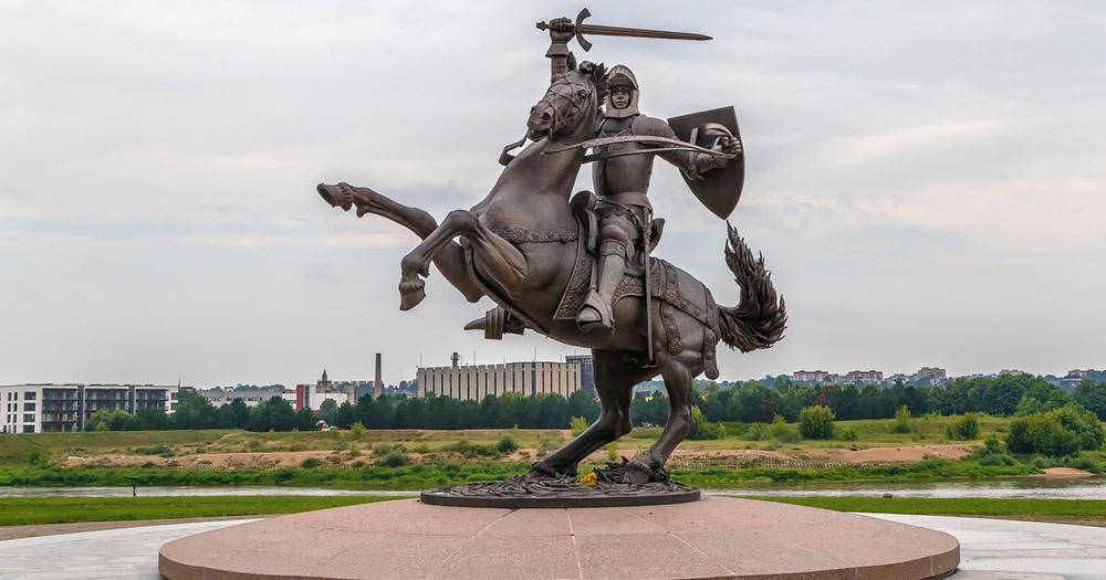 Kaunas - Vytis Skulptur