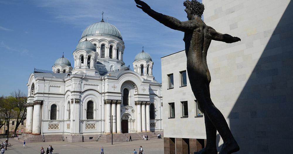 Kaunas - Erzengel Michael Kirche