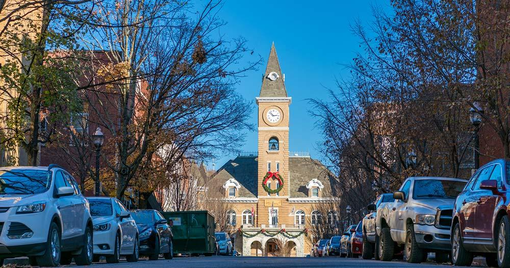 Fayetteville - Rathaus