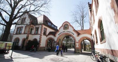 Zoo Leipzig - Eingang