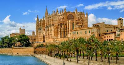 Kathedrale von Palma - Panoramablick