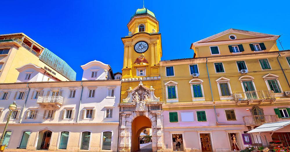 Rijeka - Hauptplatz