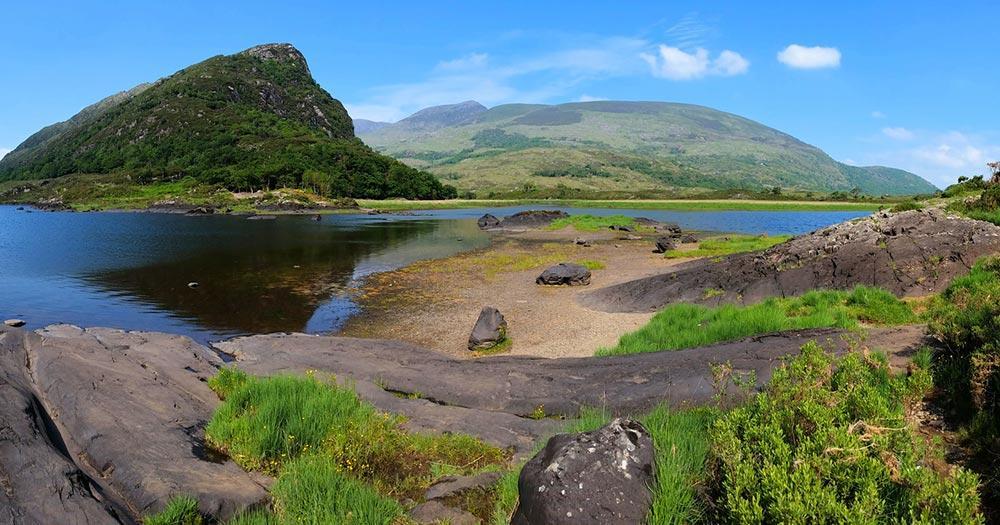 Killarney  - Blick auf den Upper Lake