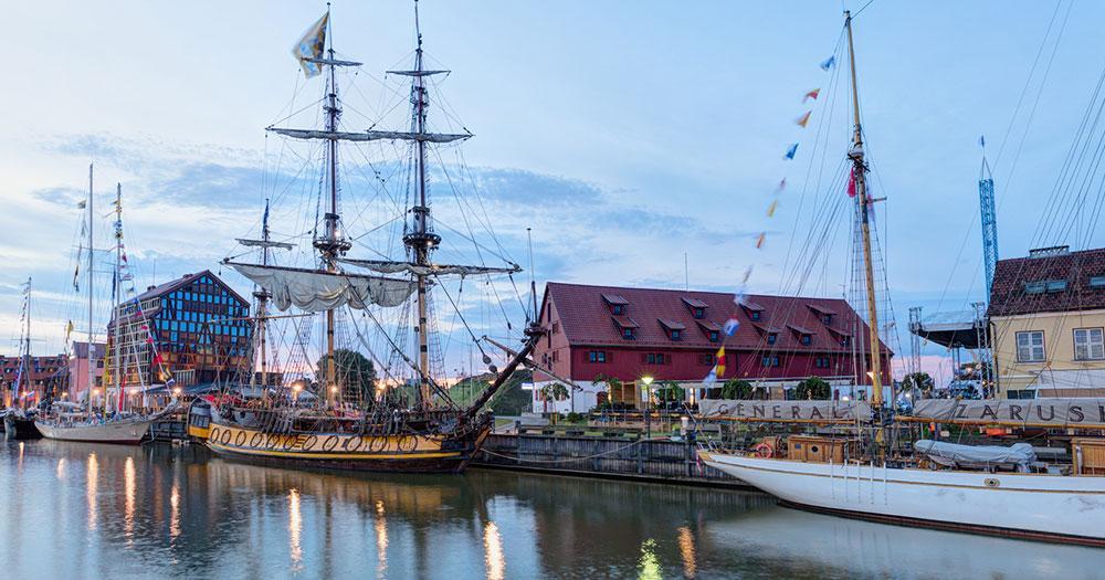 Klaipeda - Hafen