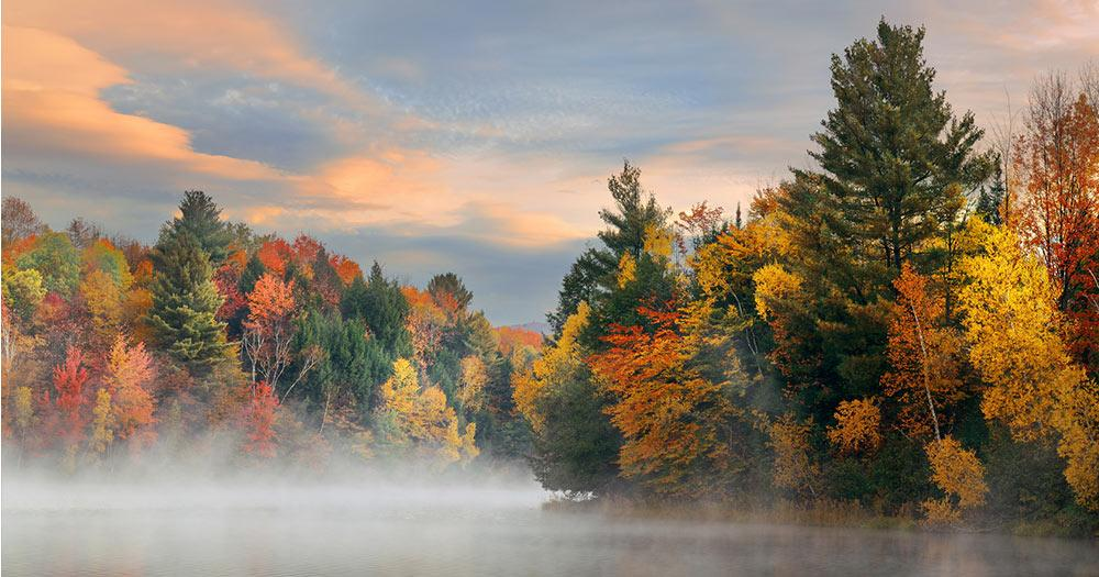 Vermont - Lake Autumn