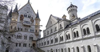 Schloss Neuschwanstein - Innenhof