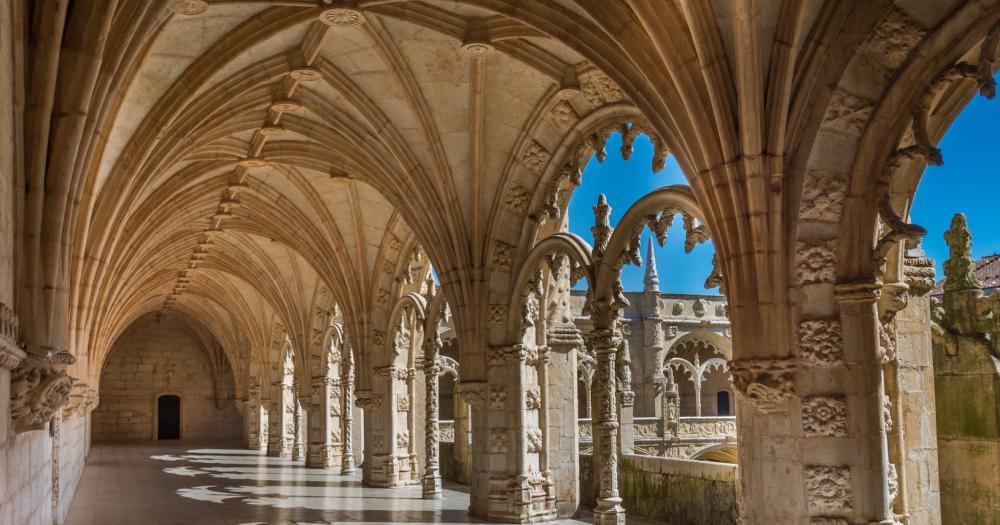 Lissabon - Innenansicht Schloss von Lissabon