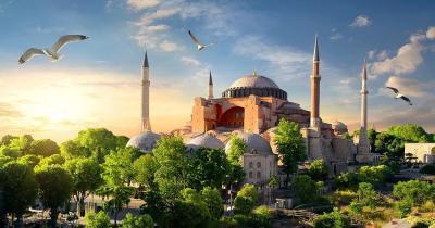 Hagia Sophia - im Sonnenlicht