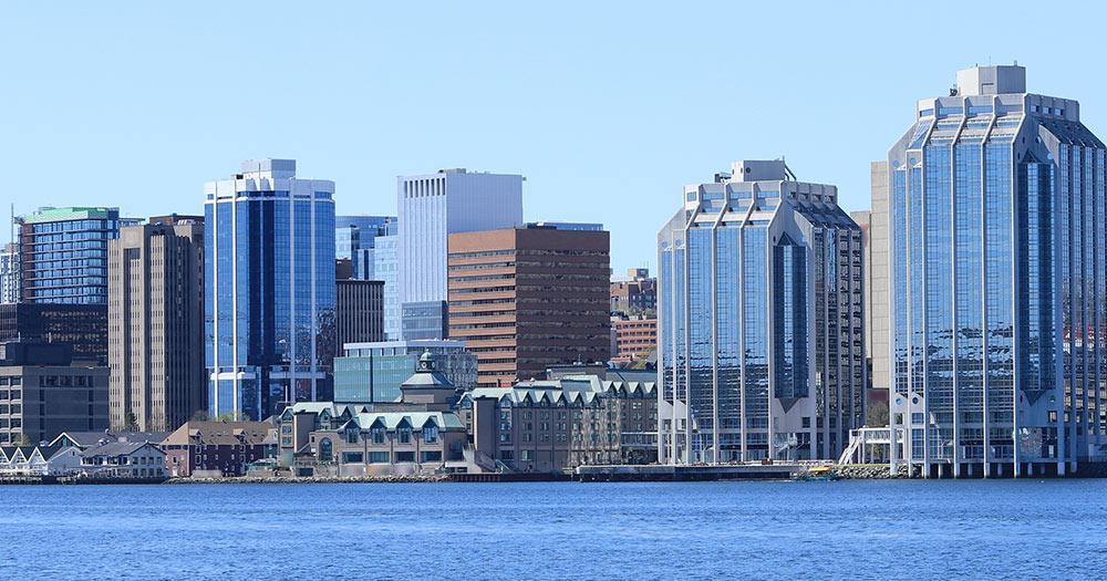 Halifax - Hafenpanorama