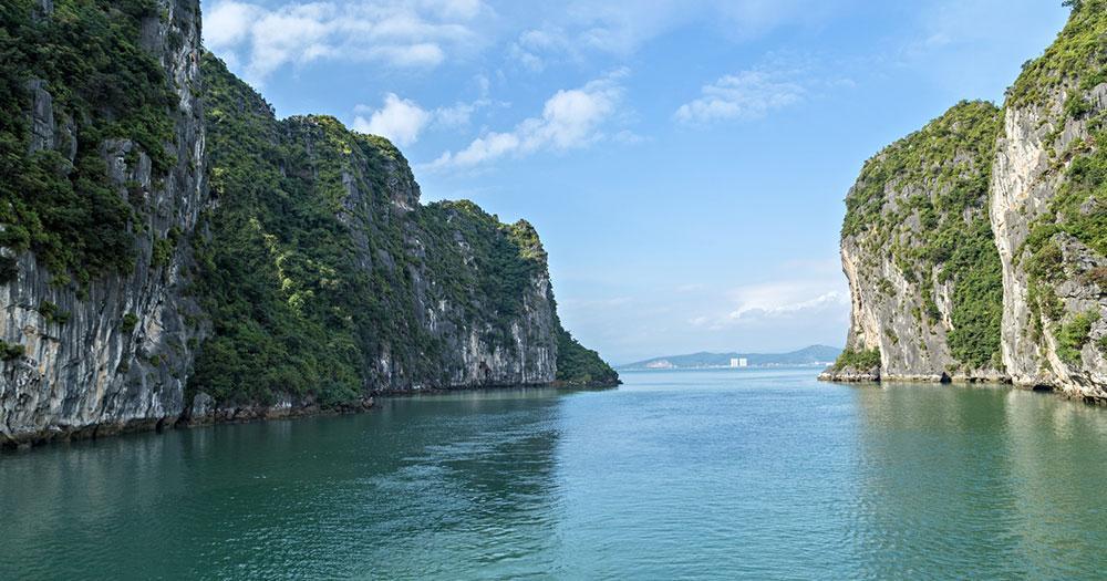 Halong-Bucht - Durchfahrt