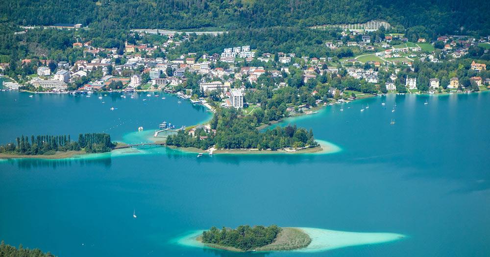 Klagenfurt am Wörthersee - Karibische Buchten am See