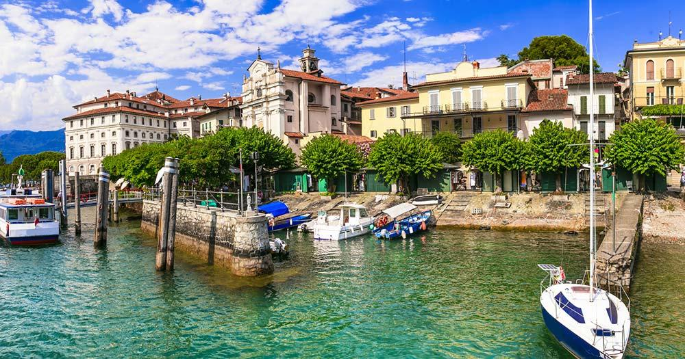 Lago Maggiore - Hafen