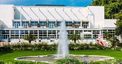 Palmengarten Frankfurt - Springbrunnen