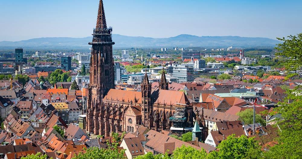 Freiburg im Breisgau - Panoramablick