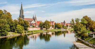 Ulm / Panoramabild von Ulm