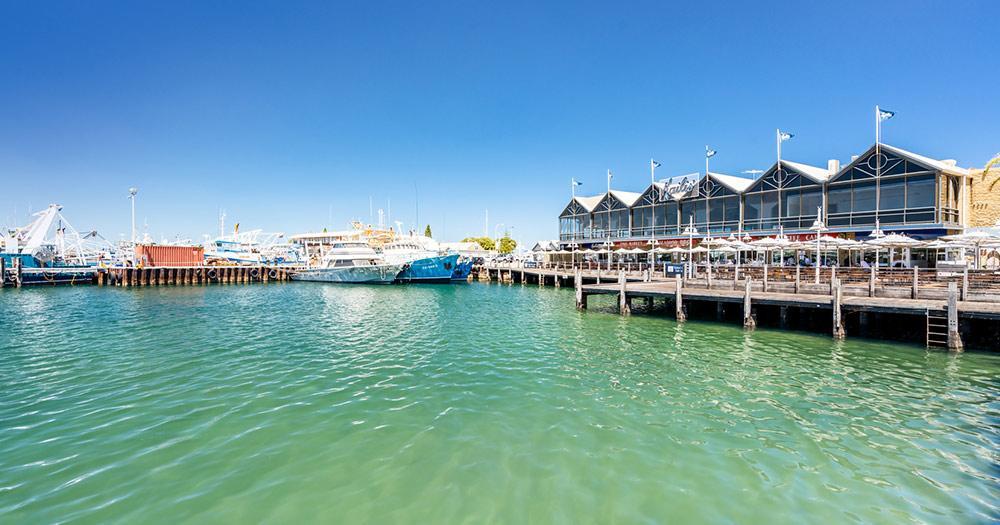 Fremantle / Hafen von Fremantle
